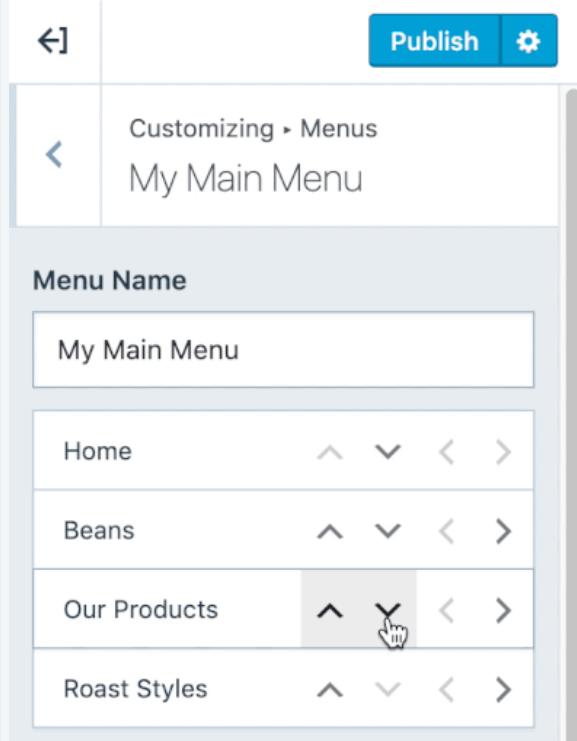 Website Add Items